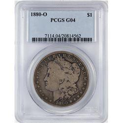 1880-O $1 Morgan Silver Dollar Coin PCGS G04