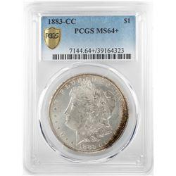 1883-CC $1 Morgan Silver Dollar Coin PCGS MS64+