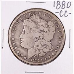 1880-CC $1 Morgan Silver Dollar Coin