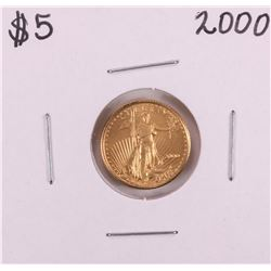 2000 $5 American Gold Eagle Coin