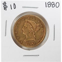 1880 $10 Liberty Head Eagle Gold Coin