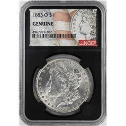 1883-O $1 Morgan Silver Dollar Coin NGC Genuine