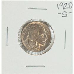 1920-S Buffalo Nickel Coin