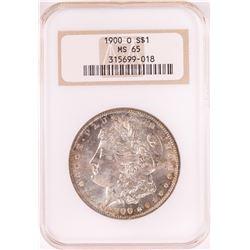 1900-O $1 Morgan Silver Dollar Coin NGC MS65 Old Holder