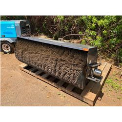 """2019 Paladin 22084MH-0022 Skidsteer Broom Attachment, Approx. 85"""" Long"""