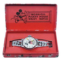 Ingersoll Mickey Mouse Wristwatch.