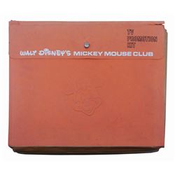 Mickey Mouse Club TV Show Promotional Kit.