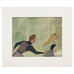 Original Briar Rose and Prince Phillip Production Cel.