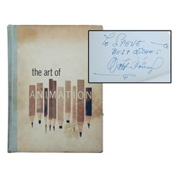 "Walt Disney & Artists Signed ""The Art of Animation""."