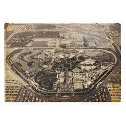 Large Disneyland Aerial Photo.