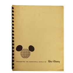 Milt Albright's Disneyland Lessee Program Booklet.