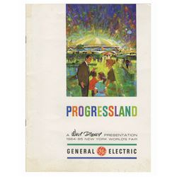 General Electric VIP Progressland Brochure.