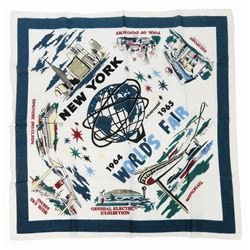 World's Fair Souvenir Scarf.