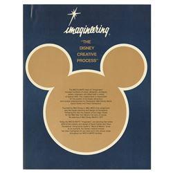 """Imagineering: The Disney Creative Process"" Pamphlet."