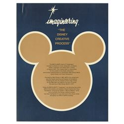 """Imagineering: The Disney Creative Process"" Pamphlet."