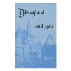 """""""Disneyland and You"""" New Hire Booklet."""