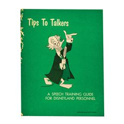 """""""Tips To Talkers"""" Cast Member Training Guide."""