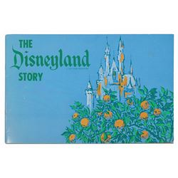 """The Disneyland Story"" Cast Member Booklet."