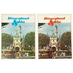 """Pair of """"Disneyland & You"""" Cast Member Books."""