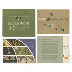 Set of (4) Cast Member Annual Reports.