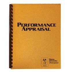 Disneyland University Performance Appraisal Guide.