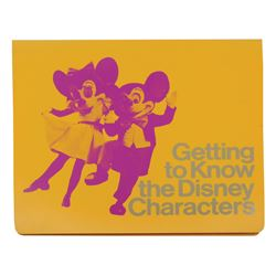 Costumed Character Training Manual.