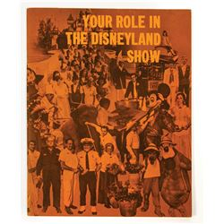 """""""Your Role in the Disneyland Show"""" New Hire Guide."""