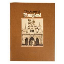 """The Spirit of Disneyland"" Cast Member Book."