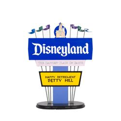 Disneyland Cast Member Retirement Award.