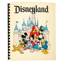 Disneyland Cast Member Information Packet.