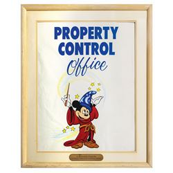 Disneyland Property Control Office Sign.