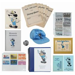 Collection of Disneyland Security Memorabilia.