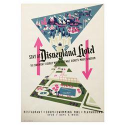Disneyland Hotel Attraction Poster.