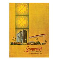 Disneyland Hotel Restaurant by Gourmet Menu.