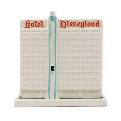Disneyland Hotel Ceramic Coin Bank.