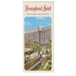 Disneyland Hotel Brochure.