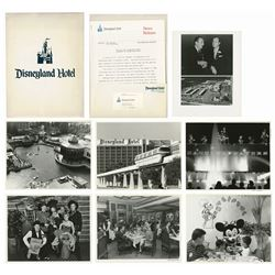 Disneyland Hotel Press Packet.