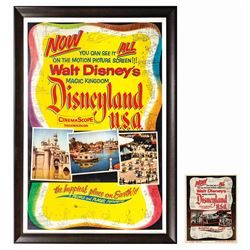 Disneyland U.S.A. Poster and Marketing Brochure.