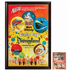 Gala Day Disneyland Poster and Campaign Book.
