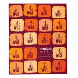 Disneyland U.S.A. Radio City Music Hall Booklet.