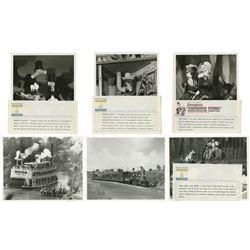 Collection of (10) Disneyland Press Photos.