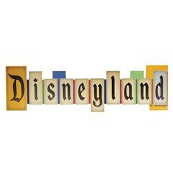 Disneyland Marquee Sign Replica.
