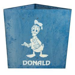 Donald Duck Disneyland Parking Lot Sign.