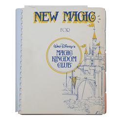 Milt Albright's Magic Kingdom Club Proposal.