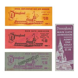 Set of (4) Complimentary Main Gate Admission Tickets.