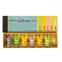 Disneyland Ticket Book Vinylmation Figure Set.