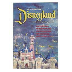 """The Story of Disneyland"" Opening Year Guidebook."