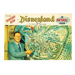 Disneyland Opening Year Picture Souvenir Guidebook.
