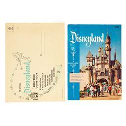 1957 Disneyland Souvenir Guidebook with Envelope.