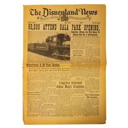 The Disneyland News Vol. 1 No. 1.